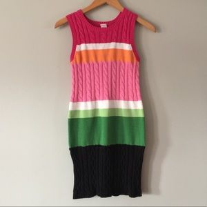 Gymboree Girls' multicolored Sweater dress 12